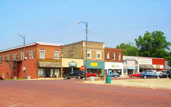 Baldwin City Downtown