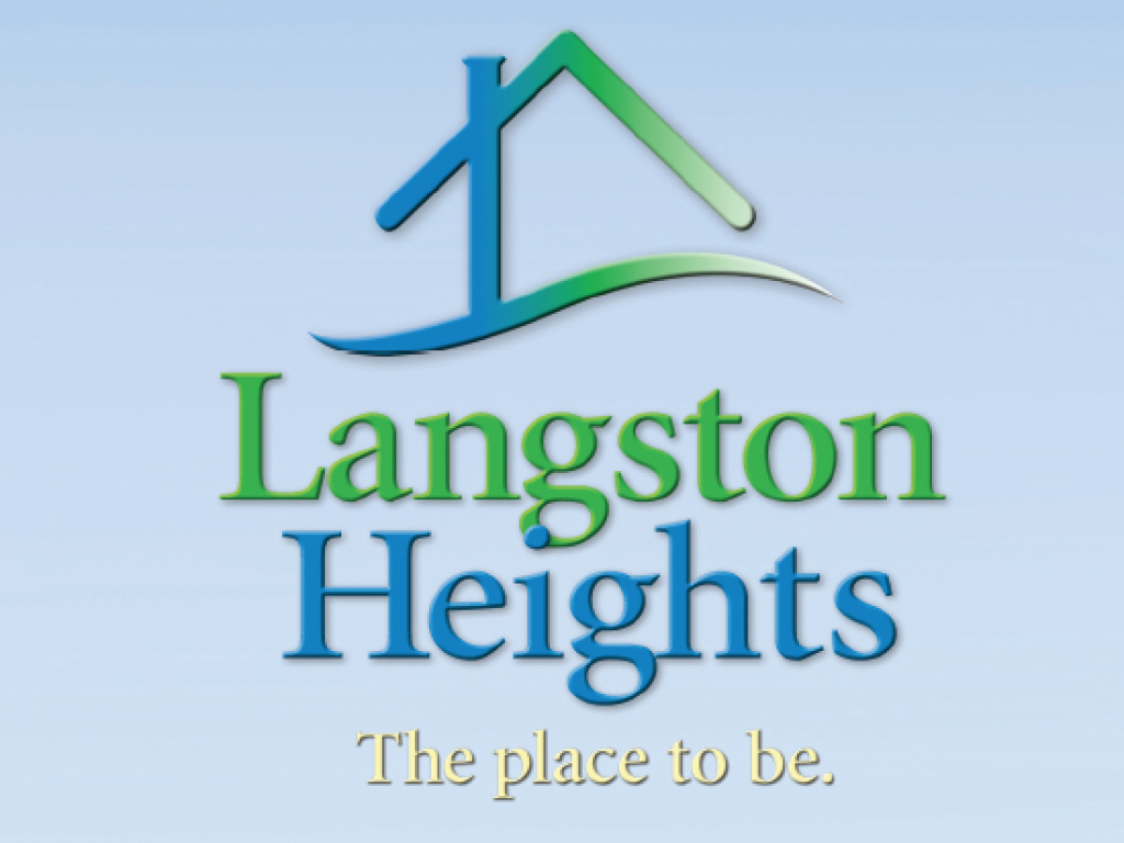 Langston Heights neighborhood in Lawrence