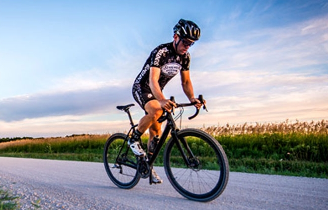 An active retirement with cycling and hiking in Lawrence Kansas