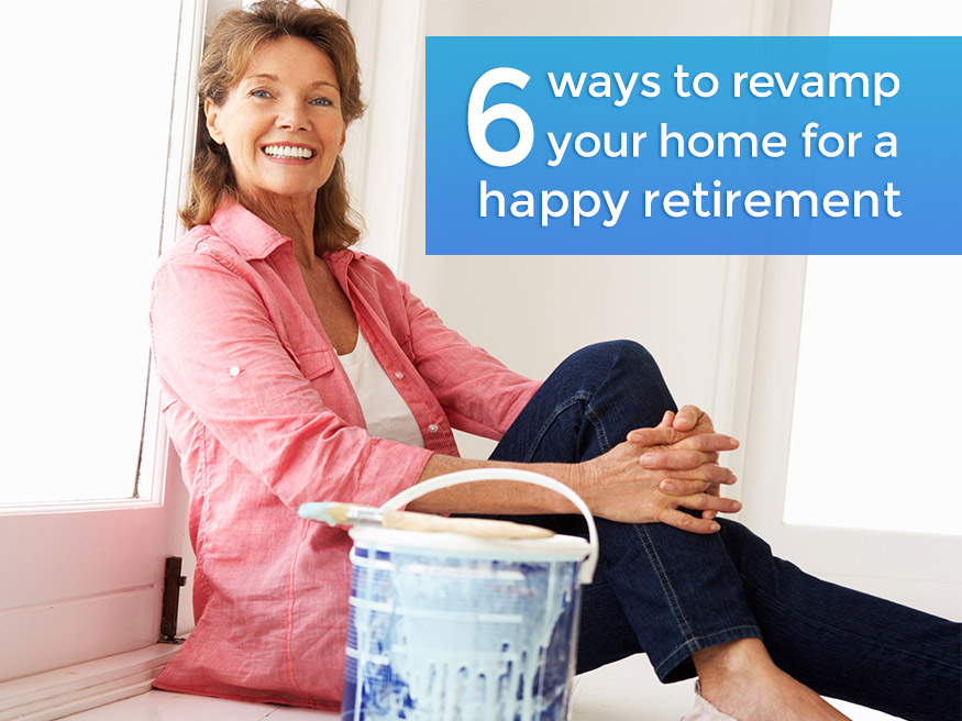 Revamp your home for a happy retirement by Live the Lawrence Life