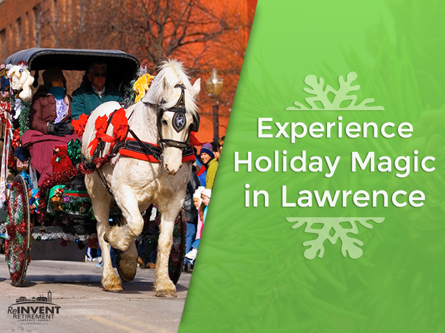 Experience Holiday Magic in Lawrence KS