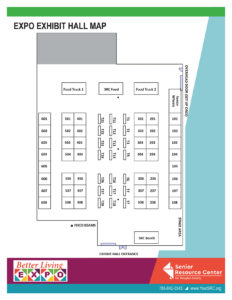 Better Living EXPO Exhibit Hall Map